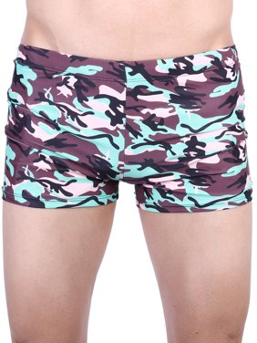 f13949a30e5 Product Image SAYFUT Men s Camouflage Jammer Swimsuit Lycra Quick Dry Swim  Trunks Swim Surf Board Athletic Swimwear L