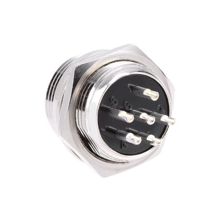 Aviation Connector 16mm 6P 4A 250V GX16 Waterproof Male Wire Panel Power 250v Shore Power Inlet