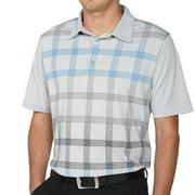 Ashworth Performance EZ-TEC2 Large Checker Print Golf Polo 2015