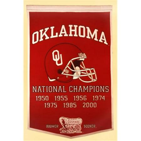 Winning Streak Sports 76040 Oklahoma  University of Banner - image 1 of 1