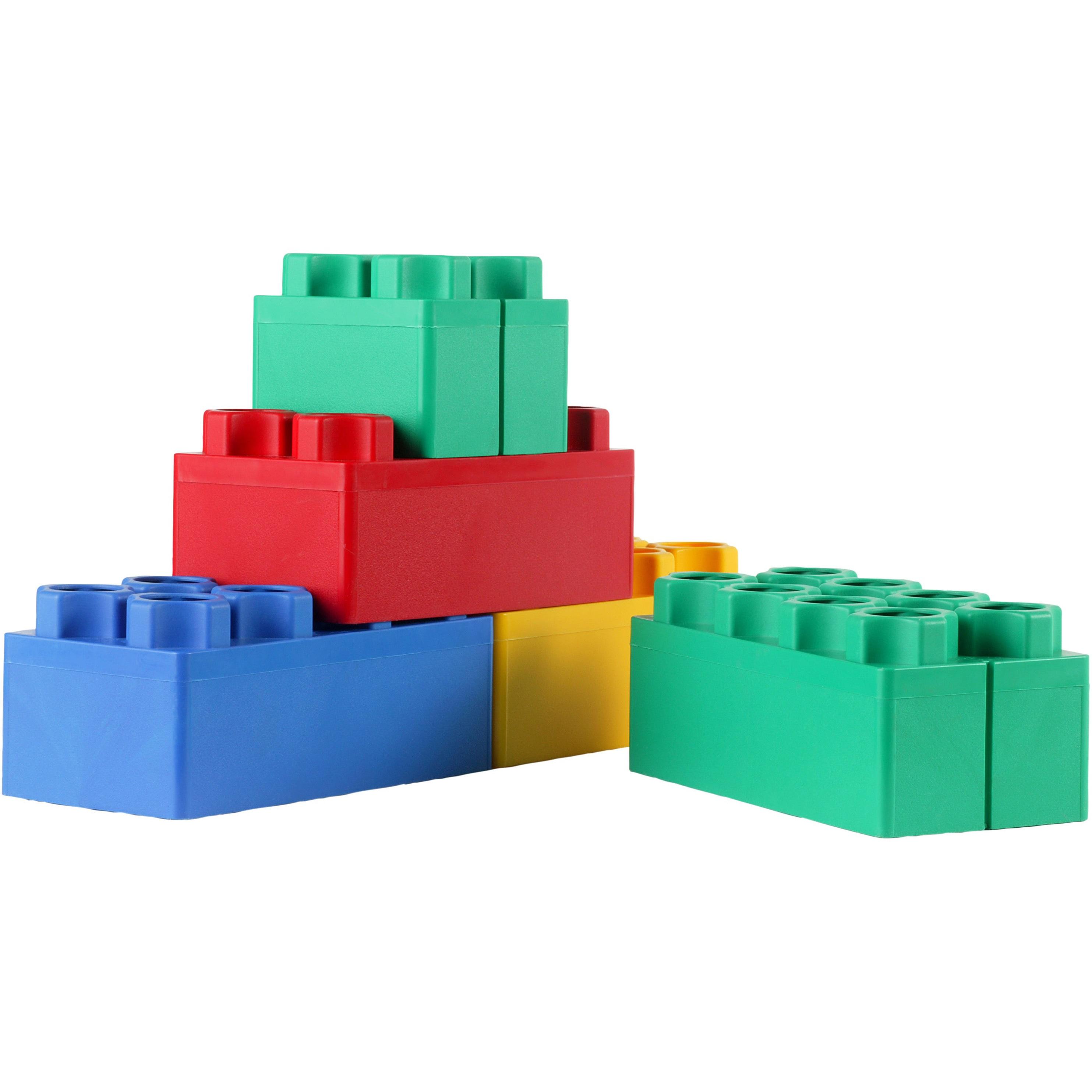 Kids Adventure Jumbo Blocks Learner Set, 48-Pieces