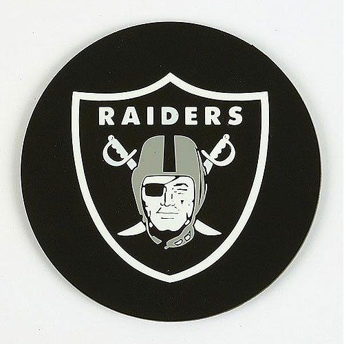 NFL Oakland Raiders Coasters (4 Pack)