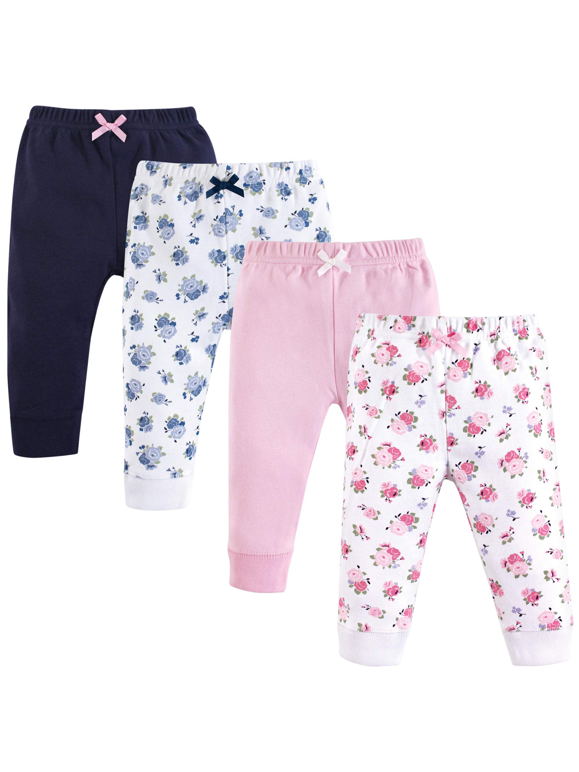 Tapered Ankle Pant 4pk (Baby Girls)