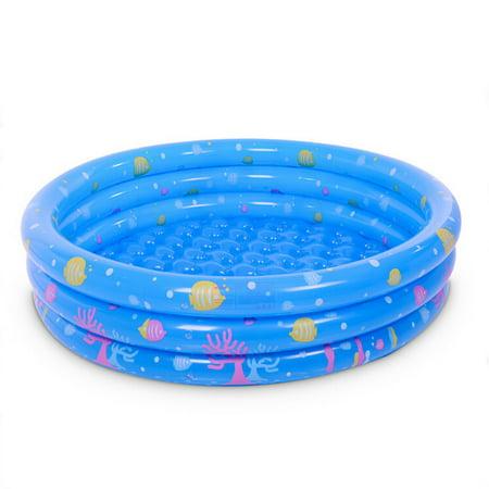 Inflatable Kiddie Pool, Ball Pool, Family Kids Water Play Fun In Summer 35*80cm