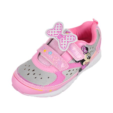 Minnie Mouse Girls' Light-Up Sneakers (Toddler Sizes 7 - 12) for $<!---->