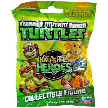 Teenage Mutant Ninja Turtles Half Shell Heroes Collectible Figure Mystery Pack (Ninja Turtle Shells)