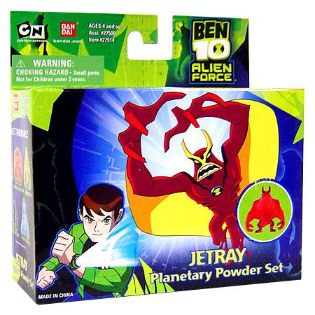 Ben 10 Alien Force Jetray Planetary Powder Set