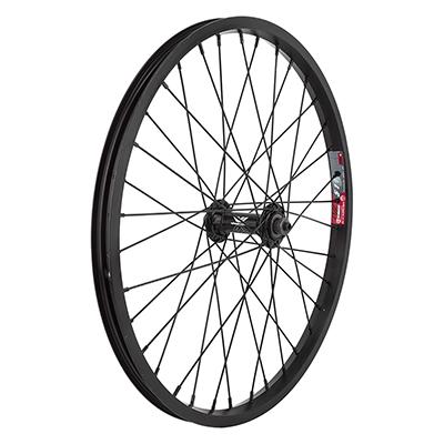 Wheel Front 20X1.5 Aluminum Recumbent 36 Hole // Black Quick Release