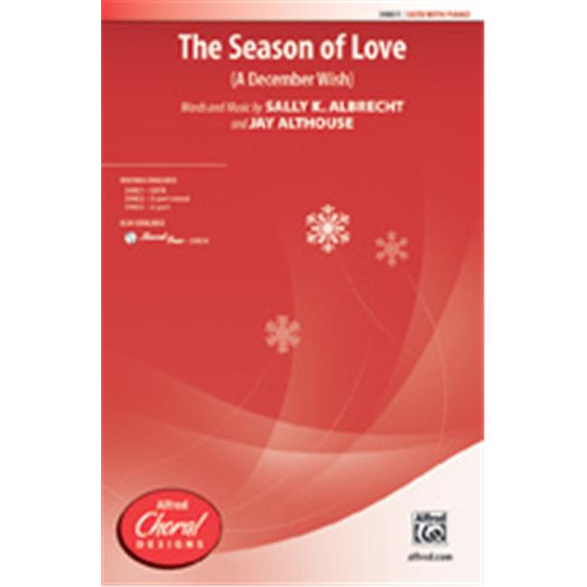 Alfred 00-39854 SEASON OF LOVE, THE-STRX CD by