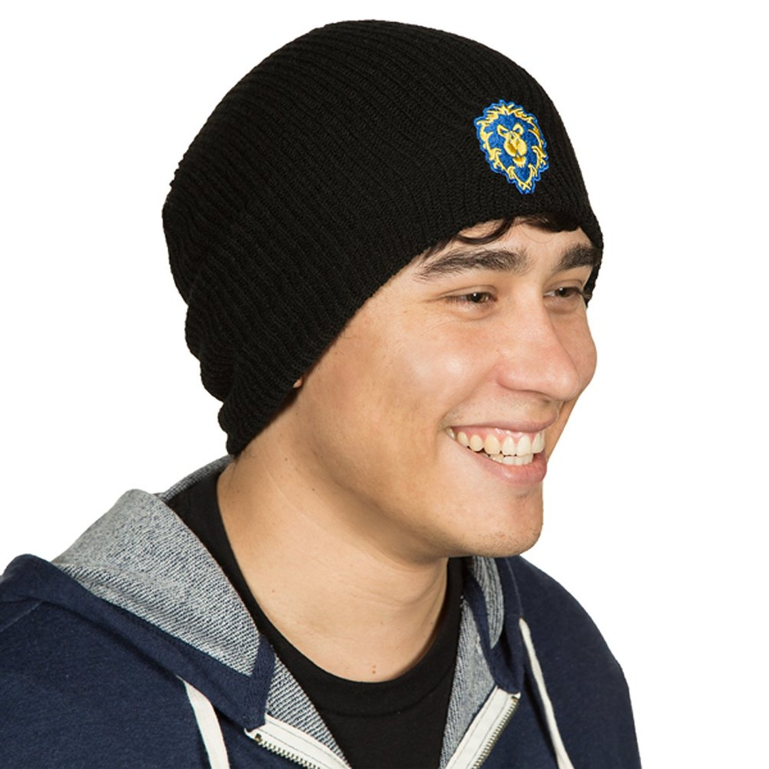World of Warcraft Warlords Draenor Alliance Beanie Black One Size