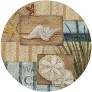 Thirstystone Drink Coasters, Beach Scene, Set of 6