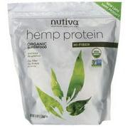 Organic Hemp Protein Hi Fiber (Bag) Nutiva 3 lbs Powder