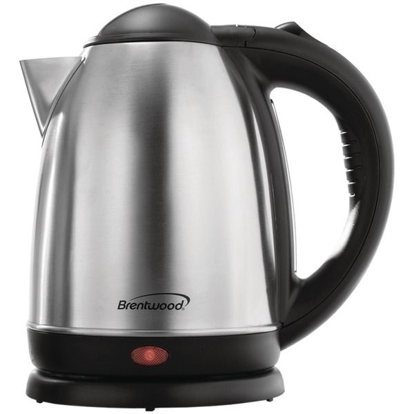 Brentwood Kt1790 1.7l Stainless Steel Electric Cordless Tea Kettle 1000w