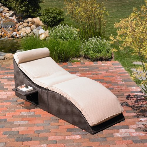 Mission Hills St.Lucia Chaise Lounge with Cushion by Mission Hills