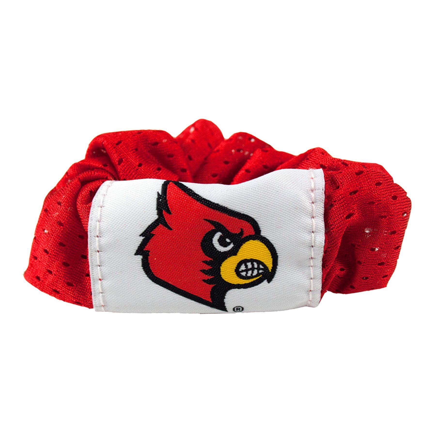 Louisville Cardinals Hair Twist Ponytail Holder