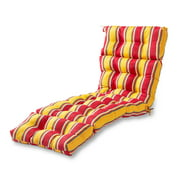 Carnival Stripe 72 x 22 in. Outdoor Chaise Lounge Cushion
