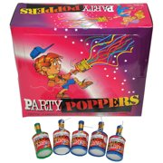 PARTY POPPER PKG OF 72