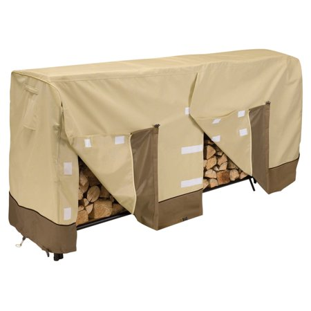 Classic Accessories Veranda™ 8' Log Rack Cover - Durable and Water Resistant Outdoor Cover, 96