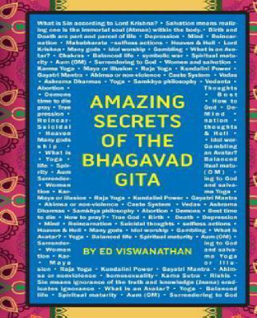 Amazing Secrets of the Bhagavad Gita: A Grandfather and Grandson Discuss Hinduism, Yoga, Reincarnation, and More by
