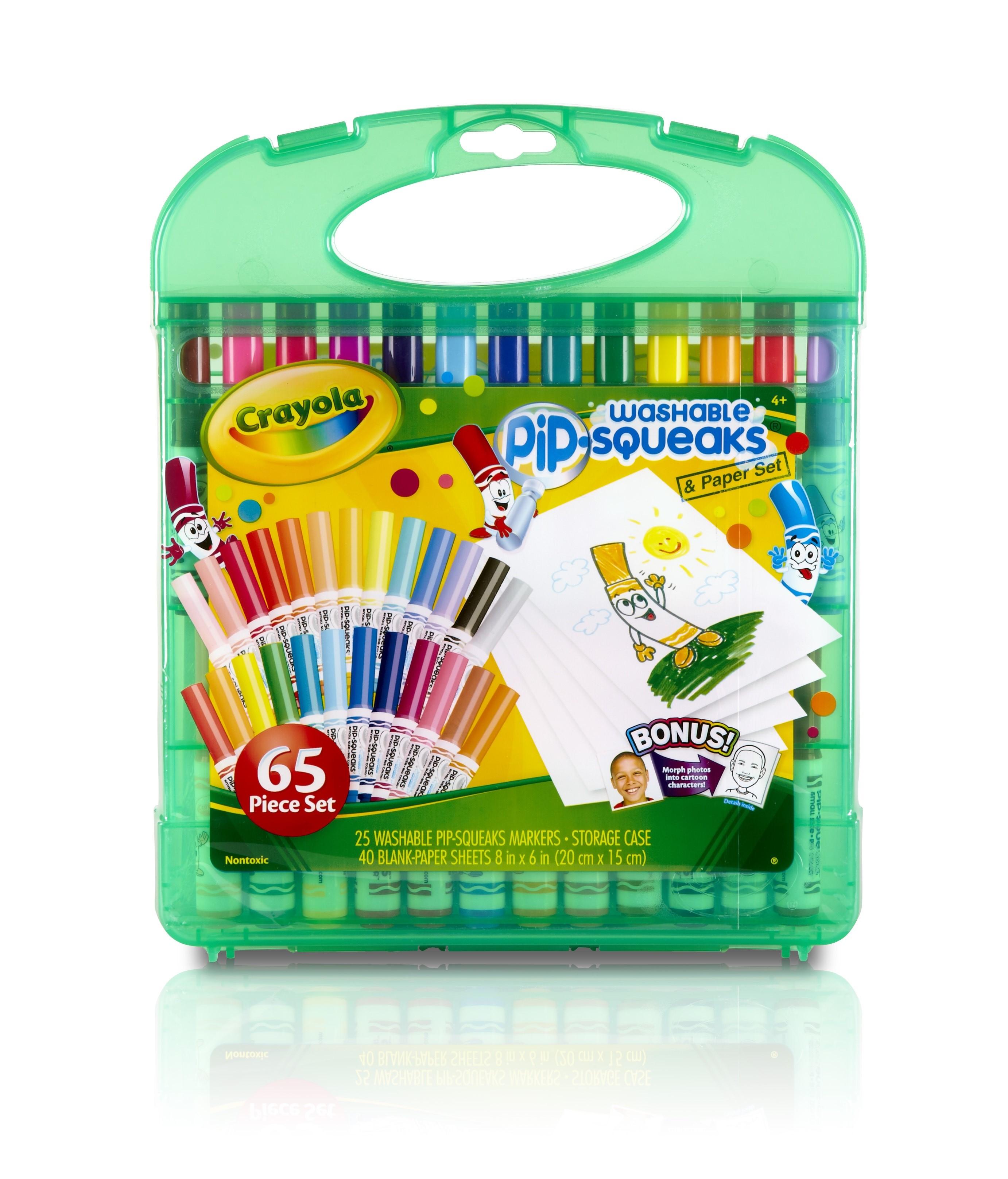 Crayola 04-5227 Pip-Squeaks Marker & Paper Set by Crayola