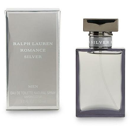 84dbcda28 Ralph Lauren - Romance Silver for Men 1.7oz Eau de Toilette - Walmart.com