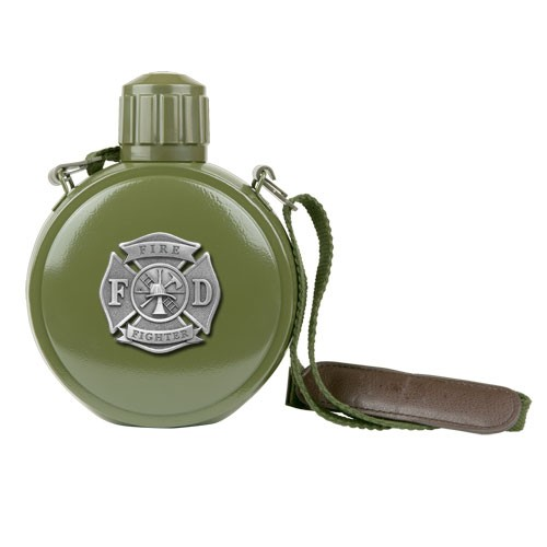 Firefighter Canteen with Compass by
