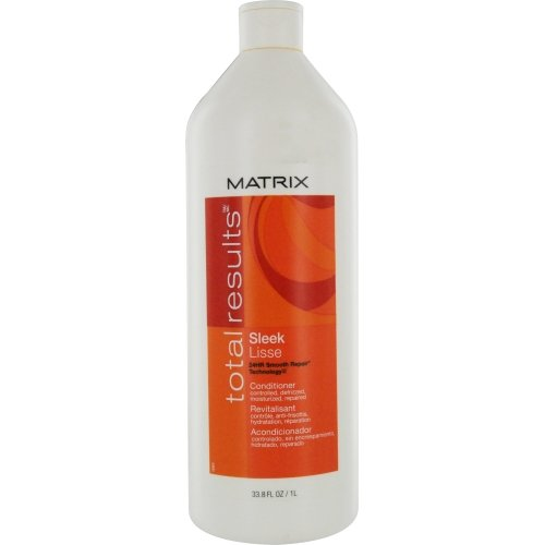 Matrix Total Results Sleek Conditioner for Unisex, 33.8 Ounce
