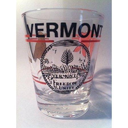 Vermont Covered Bridge Shot Glass