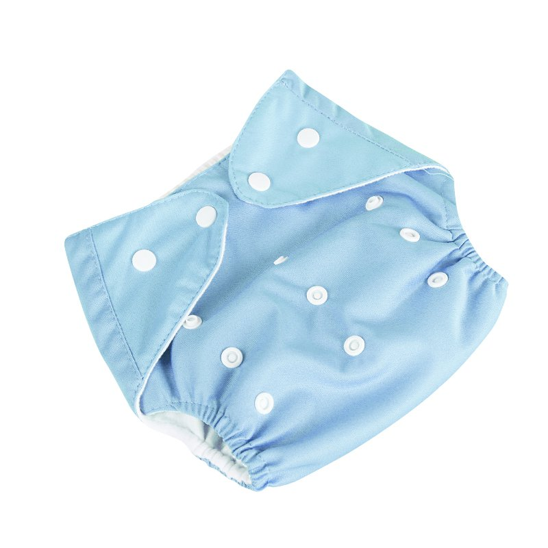 Mancro Baby Girls and Boys Diapers Washable Reusable Cotton Nappies Training Pant Cloth Diaper for Baby Girls and Boys 0-3Y