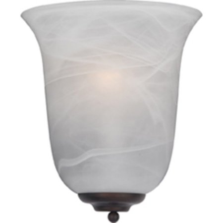 """Maxim 20580 1-Light 10.5"""" Tall ADA Compliant Wall Sconce from the Essentials Collection"""