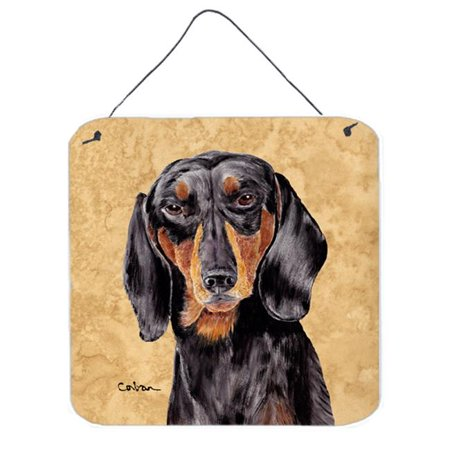 Dachshund Aluminium Metal Wall or Door Hanging Prints - image 1 of 1