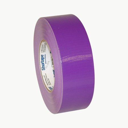 Shurtape PC-600 General Purpose Grade Duct Tape: 2 in. x 60 yds. (Purple)
