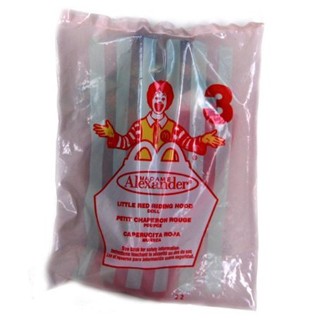 Doll - Little Red Riding Hood - McDonald's 2002 #3, MIP - Mint in Package (Unopened) By Madame Alexander Ship from (Living Dead Dolls Little Red Riding Hood)