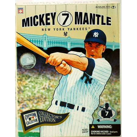 McFarlane MLB Cooperstown Collection Mickey Mantle Action Figure [Collector's Edition]