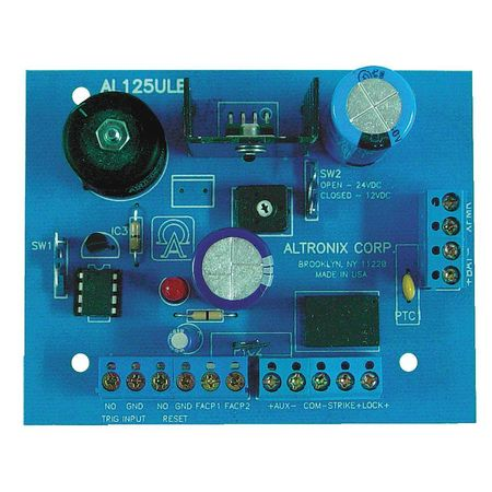 Power Supply 2Out 12Dc Or 24Dc @ 1A ALTRONIX AL125ULB