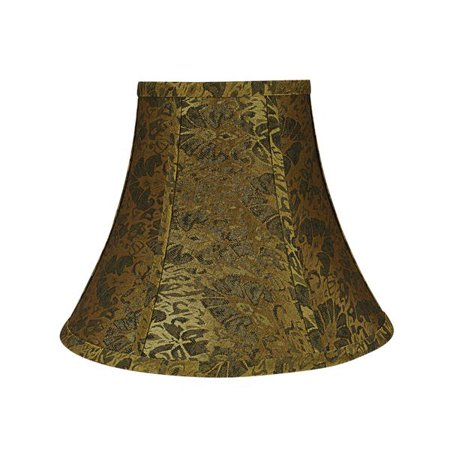 e191fdd54ce5 Aspen Creative 30162 Transitional Bell Shape Spider Construction Lamp Shade  in Gold, 12