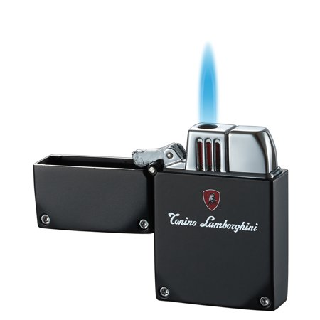 Tonino Lamborghini Swiss Movement - Tonino Lamborghini DURO Torch Flame Lighter - Matte Black