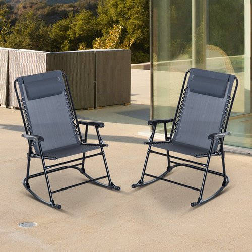 Latitude Run Dorantes Patio Rocking Chair