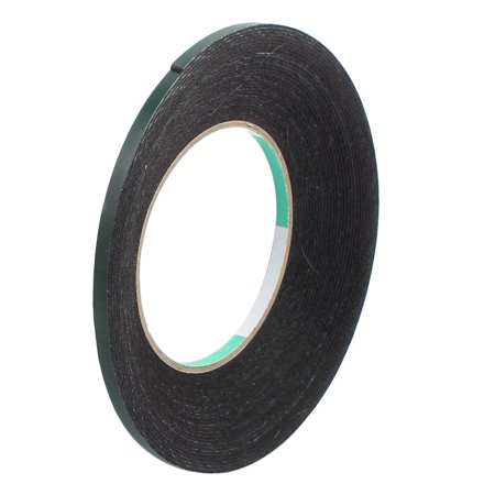 5pcs 10M x 5mm x 1mm Double-side Self Adhesive Shockproof Sponge Tape Green - image 3 of 4