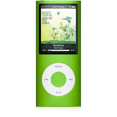 Apple iPod Nano 4th Generation 8GB  Green Bundle, Very Good Condition, No Retail