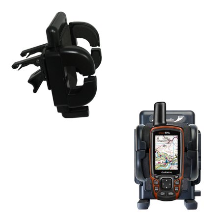 Gomadic Air Vent Clip Based Cradle Holder Car / Auto Mount suitable for the Garmin GPSMAP 64 / 64s / 64st - Lifetime Warranty ()