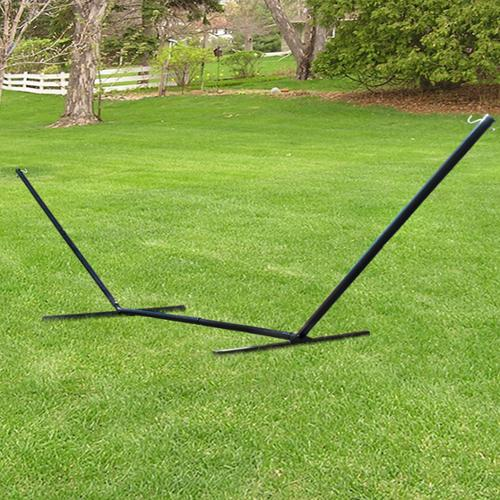 Hammock Stand 15' Solid Steel Beam Construction Outdoor Yard Patio New