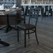 Flash Furniture Dining Chair, Black