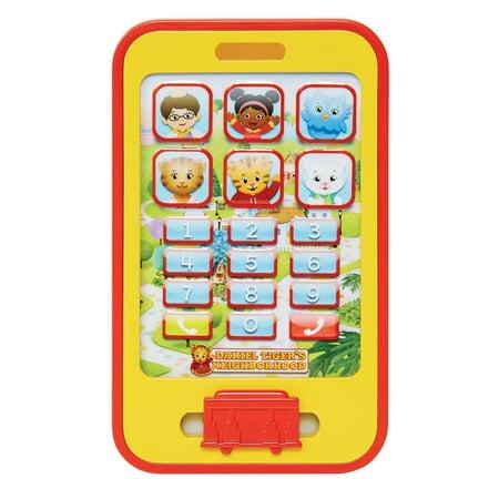 "Daniel Tiger's Neighborhood Cell Phone Toy, ""Ring, ring Hi neighbor    it's  Me Daniel Tiger, By Daniel Tigers Neighborhood"