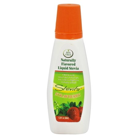 Stevita - Naturally Flavored Liquid Stevia Strawberry - 1.35 -