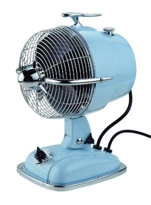 Blue Portable Fan-Fanimation FP7958BB by