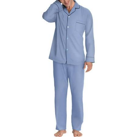 23b9775c83aa Hanes - Hanes Men s Woven Pajama Set - Walmart.com
