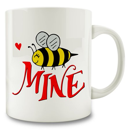 Bee Mine (Bee Mine Coffee Mug valentines day)