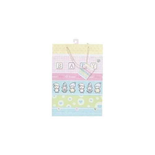 Bulk Buys Baby Gift Bag 10 X 12. 75Inch - Case of 12