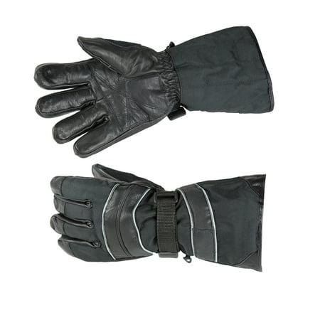 RAIDER PX7 GAUNTLET GLOVE BLACK - MEDIUM - Gauntlet Gloves